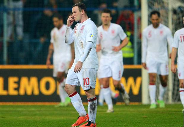 England down to seventh in latest Fifa rankings