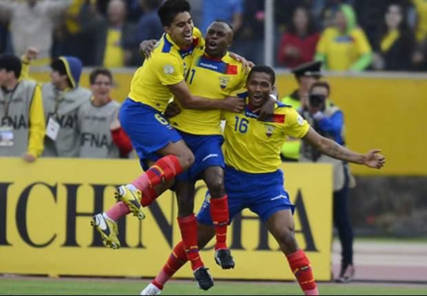 Convocatoria de Ecuador para juego ante Alemania