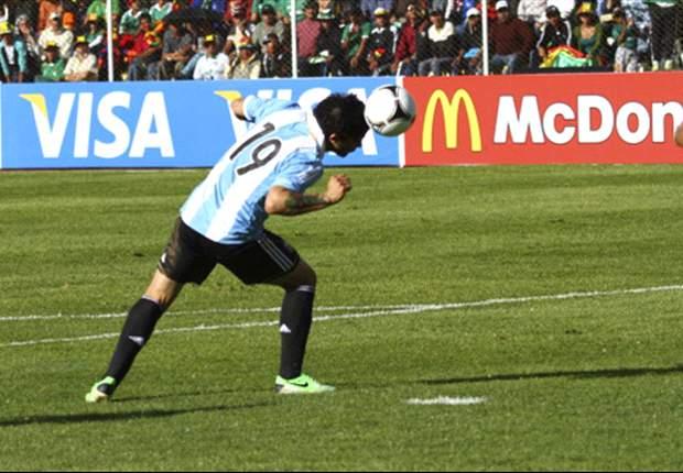 Banega fue quien logró empatar el partido sobre el final del primer tiempo.