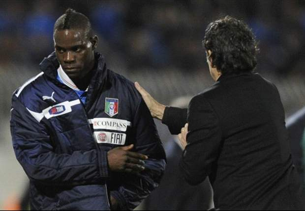 Balotelli's time is now, says Prandelli