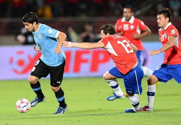 Chili Bungkam Perlawanan Uruguay