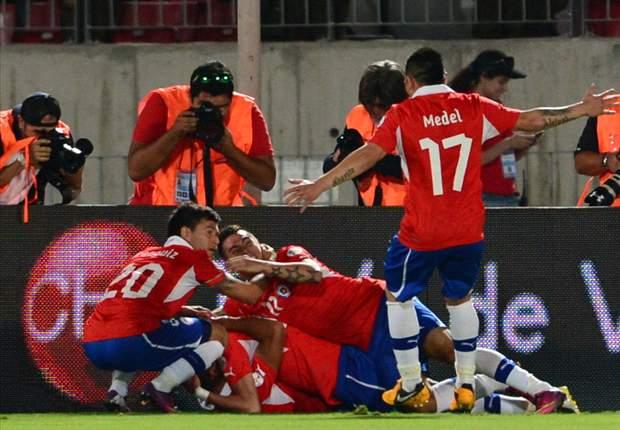 Chile no deja dudas ante Uruguay