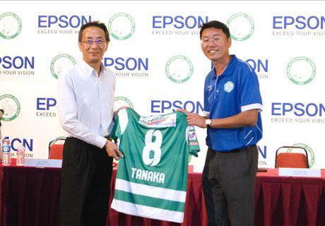 Geylang unveils Epson as main sponsors