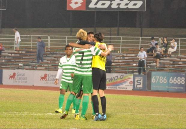Outplayed Geylang claim first home win of the season