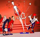 CARTOON: Zlatan lines them up