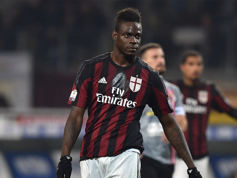 """Balotelli dimentica il calcione: """"Totti fantastico, due palloni e due goal"""""""