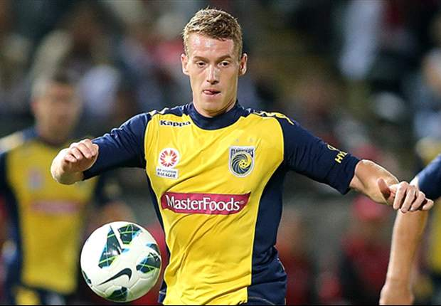 Oliver Bozanic shows Central Coast Mariners commitment