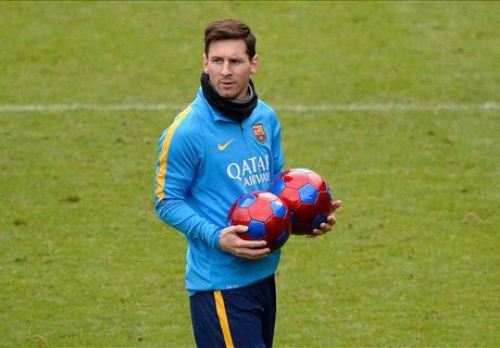 Messi vuelve a entrenar