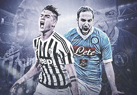 Dybala and Higuain go face to face for title