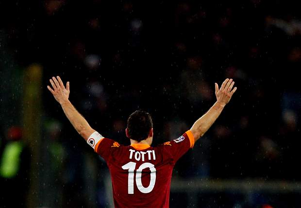 Totti has deserved Ballon d'Or, says Roma legend Falcao