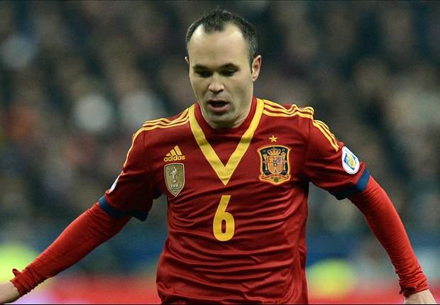 Iniesta: Playing Brazil at the Maracana would be magical