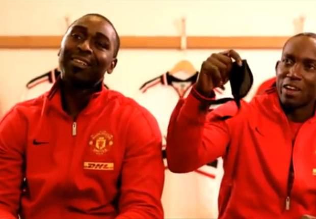 Ponen a prueba a 'Chicharito' y Rooney en comercial
