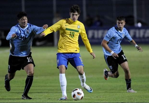 Brasil y Uruguay, campeón y subcampeón en Ecuador 2011.