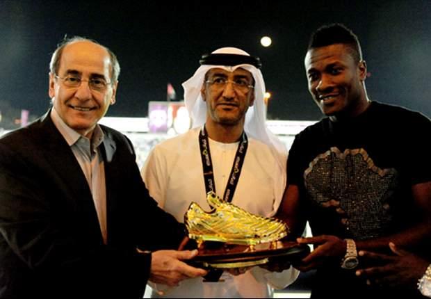 Asamoah Gyan's hat-trick wins Al Ain UAE league title