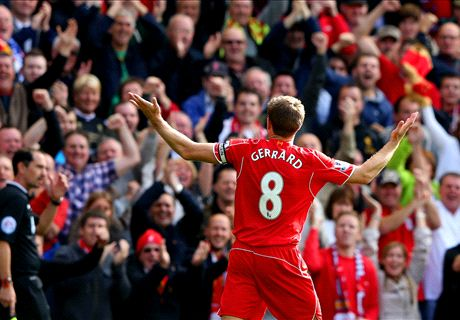 Gerrard tells Reds: Bring it home boys!