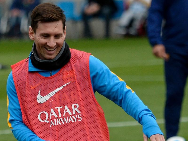 Lionel Messi Terbaik Di La Liga Januari