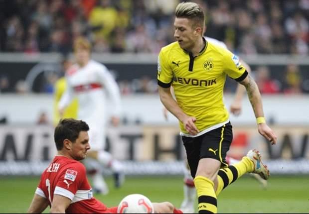 Borussia Dortmund siegt beim VfB Stuttgart: Lukasz Piszczek beweist wieder Offensivqualitäten
