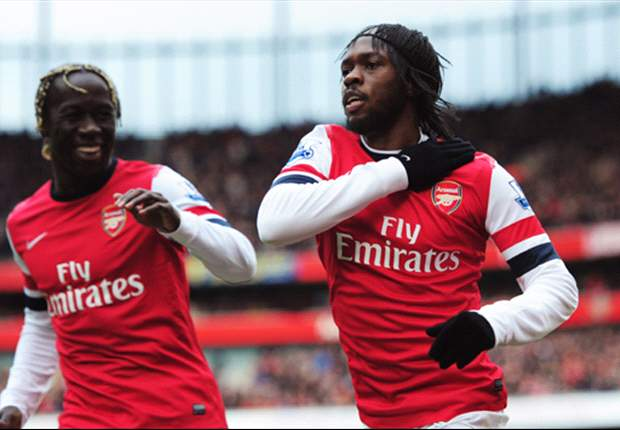 Wenger lauds Gervinho as Arsenal thrash Reading