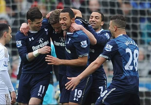 Laporan Pertandingan: Swansea City 1-2 Tottenham Hotspur