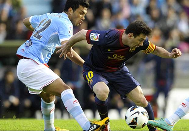 Celta Vigo 2-2 Barcelona: Messi completes Liga collection but Oubina denies Blaugrana