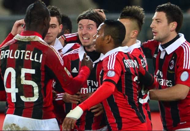 Milan springt durch Pflichtsieg bei Chievo Verona auf Rang zwei
