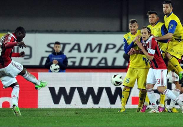 Allegri hails Milan's free-kick specialist Balotelli