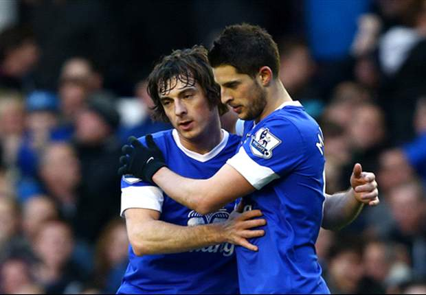 Everton 1-0 Stoke City: Mirallas keeps Toffees' top four hopes alive