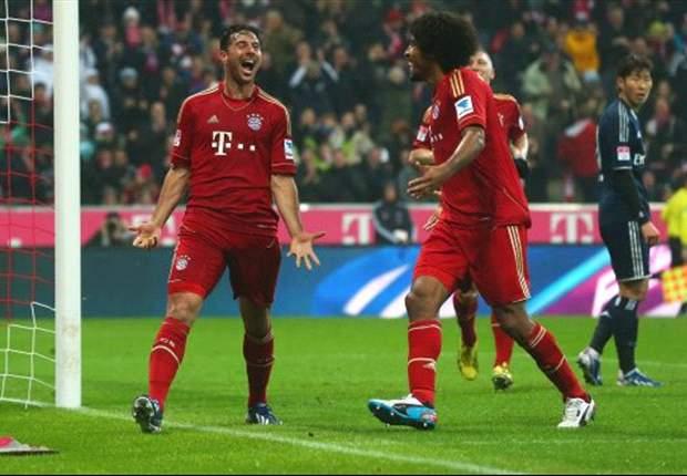 Bayern Munich Bantai Hamburg SV 9-2
