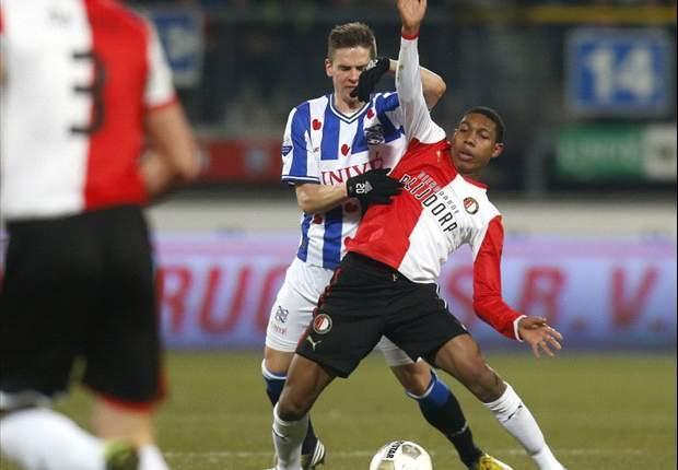 Feyenoord verliest duel en Immers