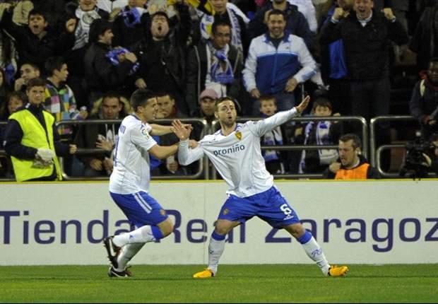 Zaragoza gana a Levante