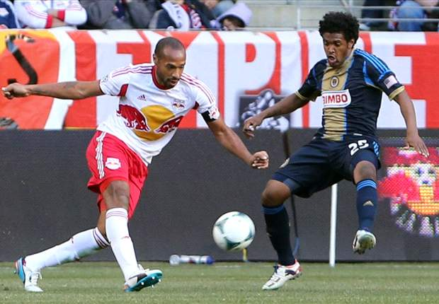 New York Red Bulls 2-1 Philadelphia Union: Late Henry intervention gives Red Bulls first win
