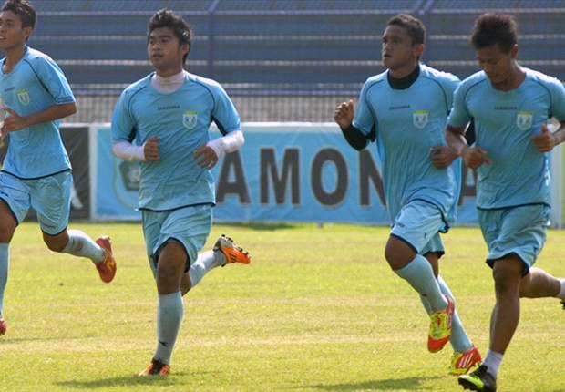 Para pemain Persela Lamongan mampu menjaga kebugaran di saat libur panjang