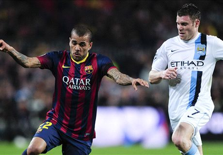Dani Alves: Milner my toughest rival