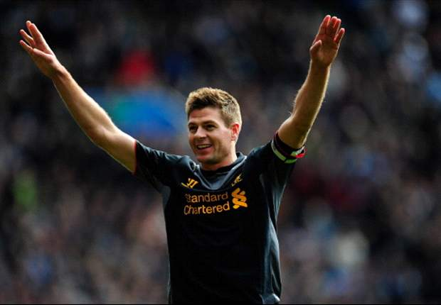 Liverpool captain Gerrard targets top-four finish