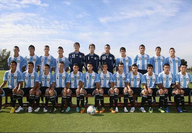 El plantel argentino para el Sudamericano Sub-17