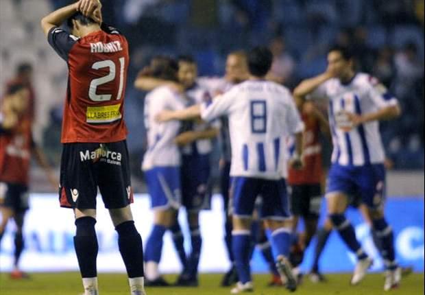 Deportivo gana a Zaragoza