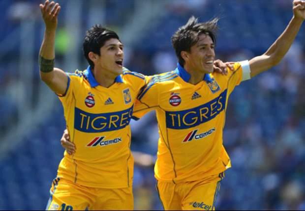 Liga MX: Puebla 1-2 Tigres | Lobos y Tigres para la punta