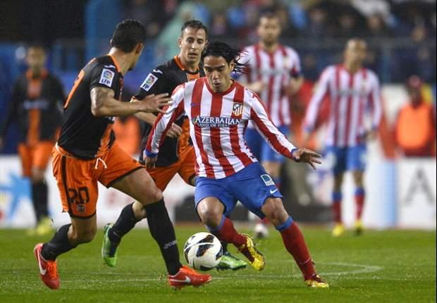 Atletico Madrid verpasst den Sprung auf Rang zwei