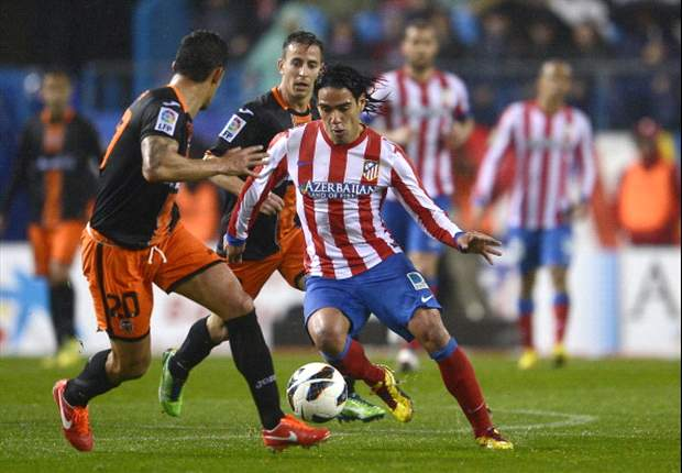 Valencia Tahan Atletico Madrid Di Peringkat Tiga
