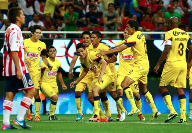 Chivas 0-2 Club America: Jimenez double dooms 10-man home side in Super Clasico
