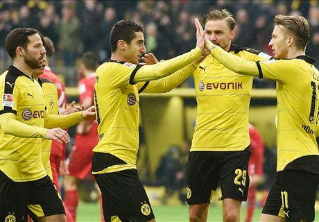 Dortmund Tekuk Hannover 96