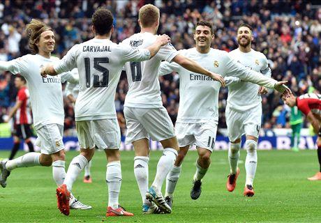 REPORT: Real Madrid 4-2 Athletic Bilbao