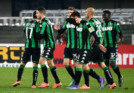Birsa-Sansone, 1-1 tra Chievo e Sassuolo