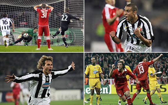Los Bayern-Juventus en Champions League