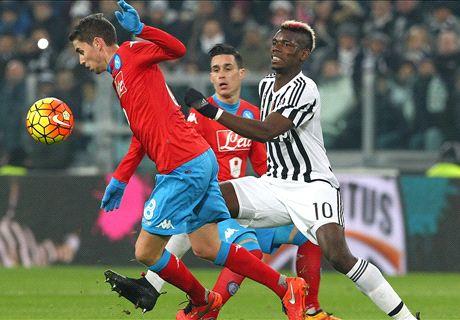 LIVE: Juventus 1-0 Napoli