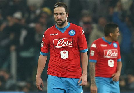 No Higuain, no party: dipendenza Napoli