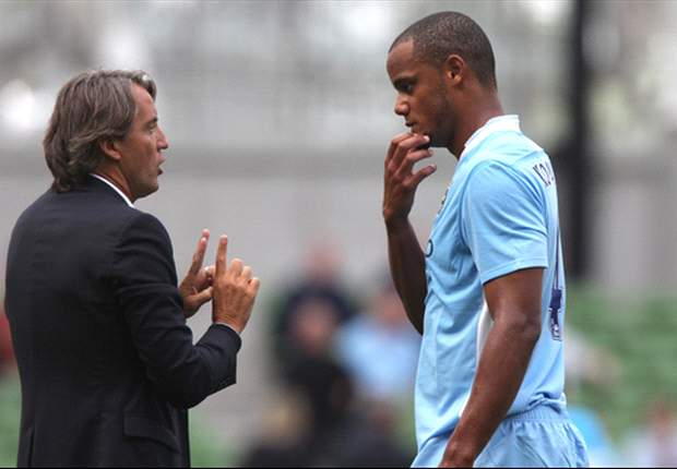 Bayern Munich monitors Kompany after Mancini feud