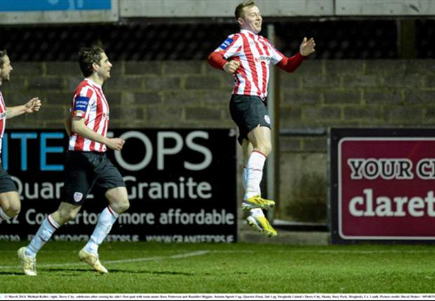 Derry City 2-0 Bray Wanderers - Rafter double helps Candystripes ease to victory