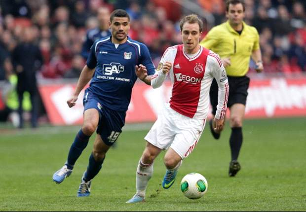 Tottenham and Liverpool target Eriksen may have played last Ajax game
