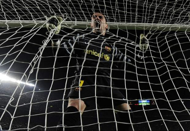 Víctor Valdés, el auténtico héroe de la Champions League